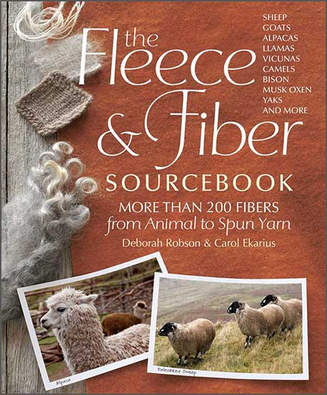 Fleece & Fiber Sourcebook cover